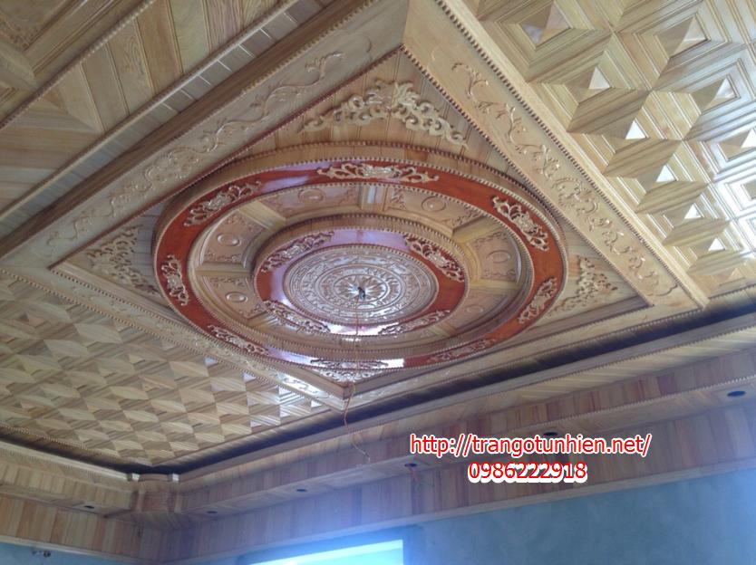 trần gỗ đẹp tại thanh liêm hà nam