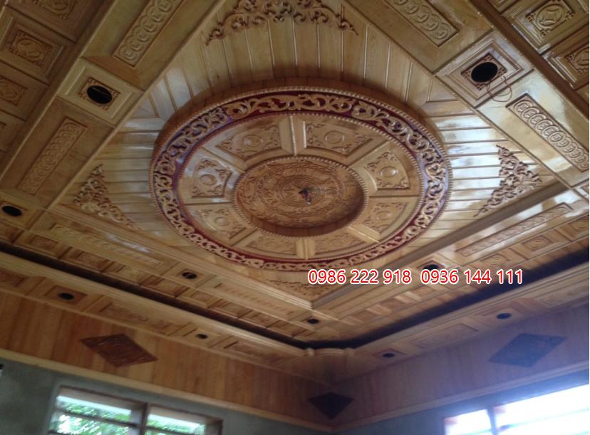 trần gỗ đẹp tại bắc từ liêm hà nội