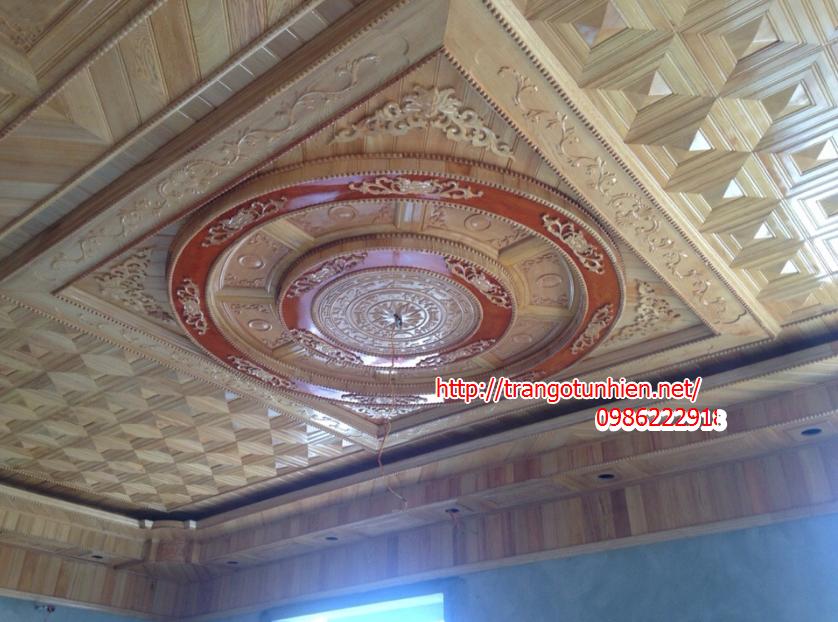 trần gỗ mới nhất