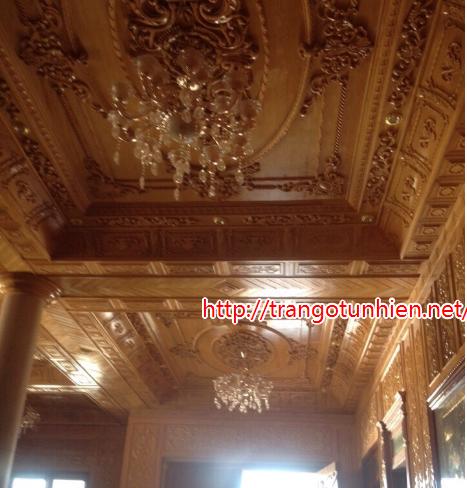 trần gỗ cao cấp